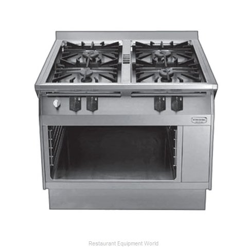 Electrolux Professional 584111 Heavy Duty Gas Range 39 (Magnified)