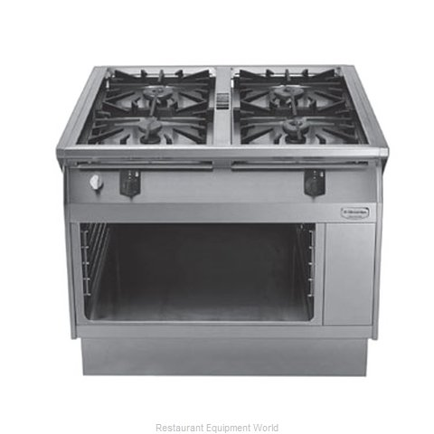 Electrolux Professional 584113 Heavy Duty Gas Range 39 (Magnified)
