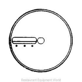 Electrolux Professional 653171 Food Processor, Slicing Disc Plate