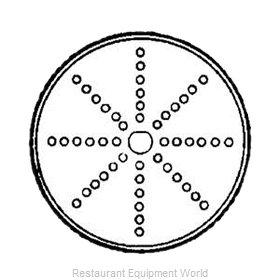 Electrolux Professional 653178 Food Processor, Shredding / Grating Disc Plate
