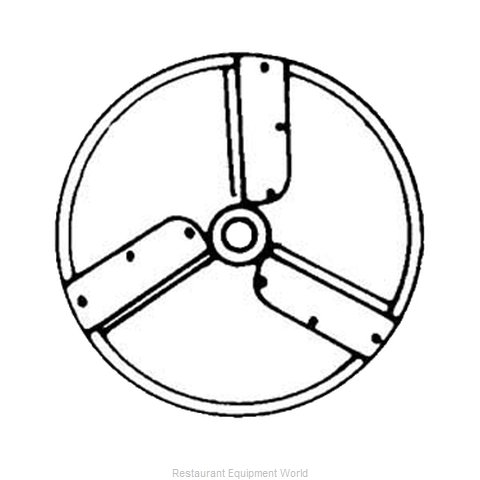 Electrolux Professional 653197 Slicing Disc Plate