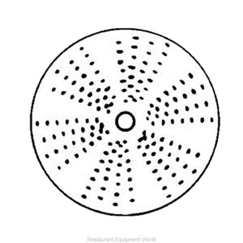 Electrolux Professional 653764 Shredding Grating Disc Plate (Magnified)
