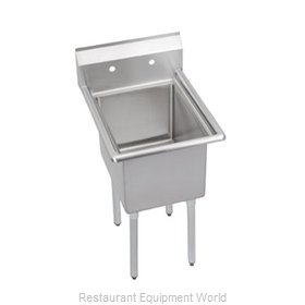 Elkay 14-1C18X24-0 Sink, (1) One Compartment