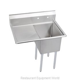 Elkay 14-1C18X24-L-18 Sink, (1) One Compartment