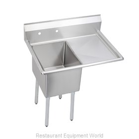 Elkay 14-1C24X24-R-24 Sink, (1) One Compartment