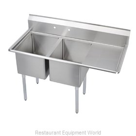 Elkay 14-2C30X30-R-24 Sink 2 Two Compartment