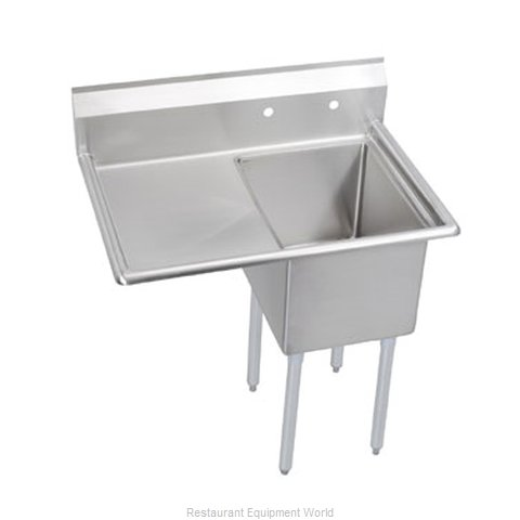 Elkay 1C18X18-L-24 Sink, (1) One Compartment
