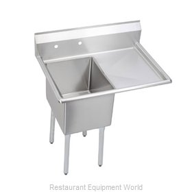 Elkay 1C18X18-R-24 Sink, (1) One Compartment