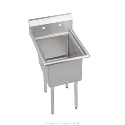 Elkay 1C18X24-0 Sink, (1) One Compartment