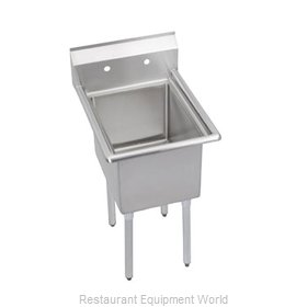 Elkay 1C18X24-0X Sink, (1) One Compartment