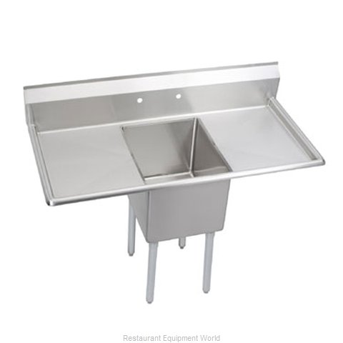Elkay 1C18X24-2-24 Sink, (1) One Compartment