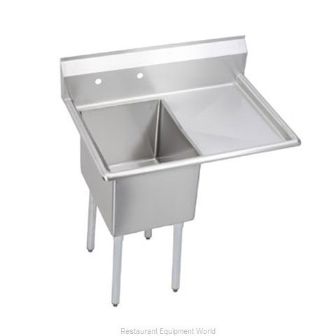 Elkay 1C24X24-R-30 Sink, (1) One Compartment