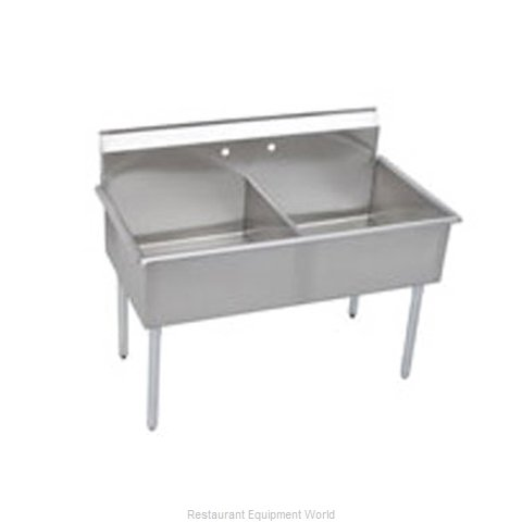 Elkay B2C24X24X Sink, (2) Two Compartment