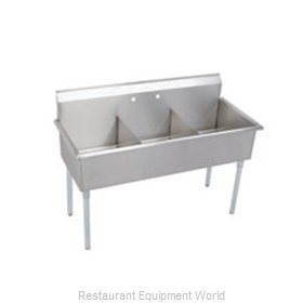 Elkay B3C12X21X Sink 3 Three Compartment
