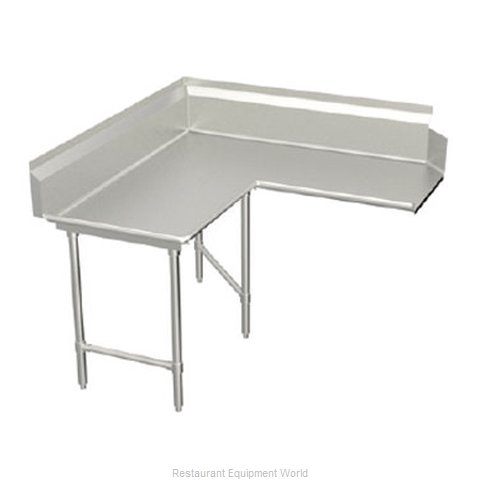 Elkay BCDTL-48-L Dishtable Clean L Shaped (Magnified)