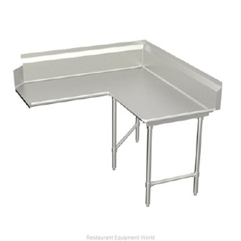 Elkay CDTL-84-R Dishtable Clean L Shaped (Magnified)