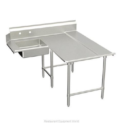 Elkay DDTLE-72-R Dishtable, Soiled (Magnified)