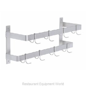 Elkay DLW-72X Pot Rack, Wall-Mounted