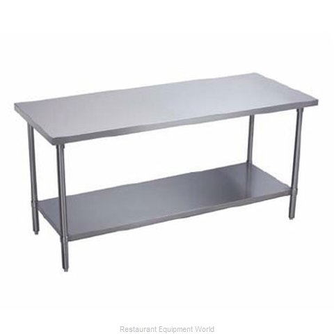 Elkay DSLWT24S18-STS Work Table 12 - 18 Long Stainless steel Top