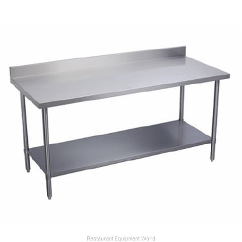 Elkay DSLWT24S96-BS Work Table 96 Long Stainless steel Top (Magnified)