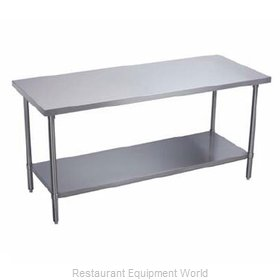 Elkay DWT36S120-STS Work Table 120 Long Stainless steel Top