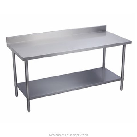 Elkay DWT36S48-BS Work Table 48 Long Stainless steel Top (Magnified)