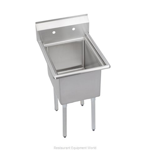 Elkay E1C20X20-0X Sink, (1) One Compartment
