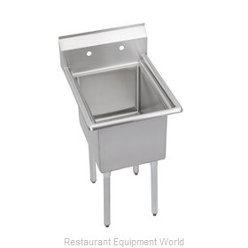 Elkay E1C24X24-0X Sink, (1) One Compartment