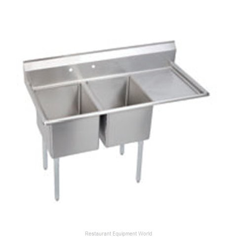 Elkay E2C20X20-R-20X Sink, (2) Two Compartment