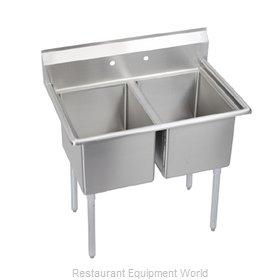 Elkay E2C24X24-0X Sink 2 Two Compartment