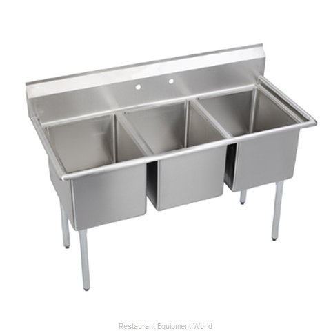Elkay E3C16x20-0X Compartment Sink