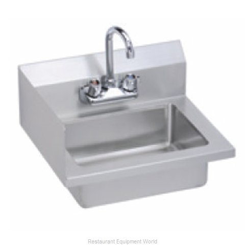 Elkay EHS-18-S-LX Sink, Hand (Magnified)