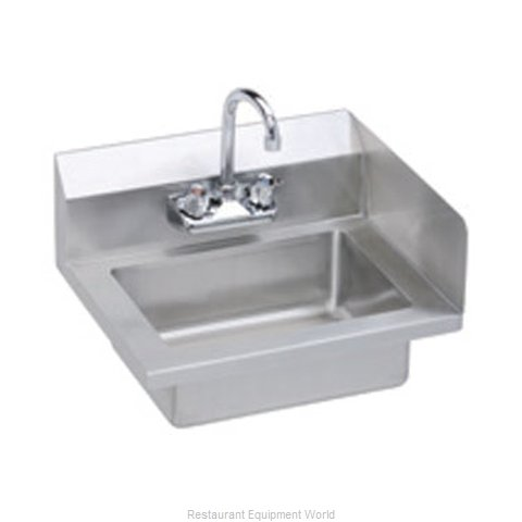 Elkay EHS-18-S-RX Sink, Hand (Magnified)