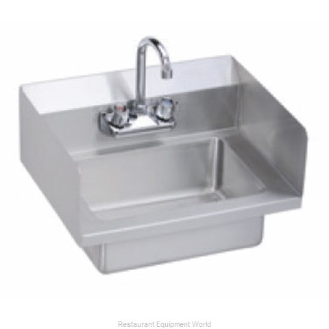 Elkay EHS-18-SSX Sink, Hand (Magnified)