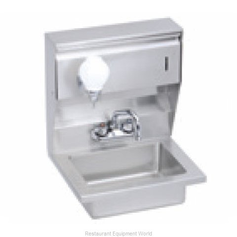 Elkay EHS-18-STDX Sink, Hand (Magnified)