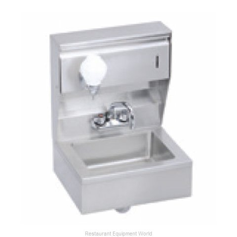 Elkay EHS-18-TSX Sink, Hand (Magnified)