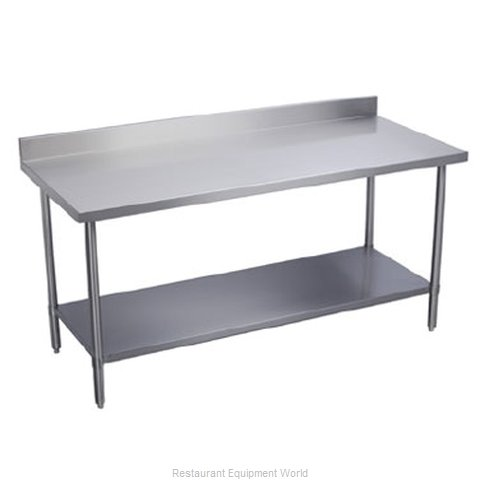 Elkay EWT24S48-STG-2X Work Table 48 Long Stainless steel Top (Magnified)