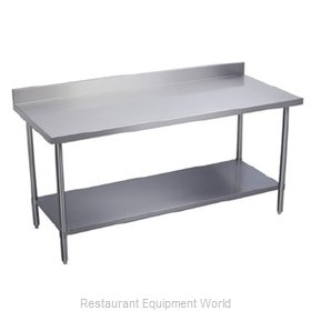 Elkay EWT24S72-STG-2X Work Table,  63