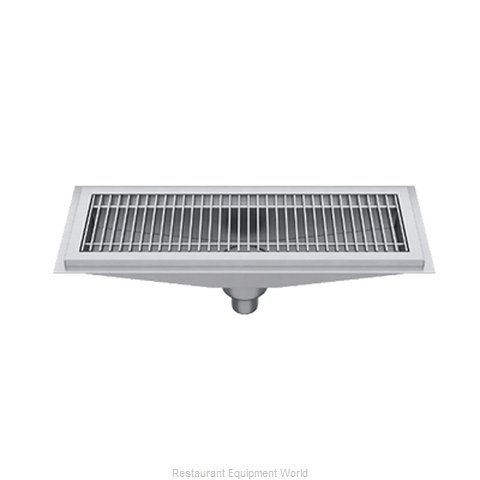 Elkay FD12X108-SSG Drain, Floor Trough