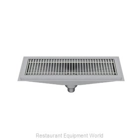 Elkay FD12X60-FG-X Drain, Floor Trough