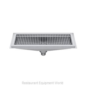 Elkay FD24X24-SSG Drain, Floor Trough