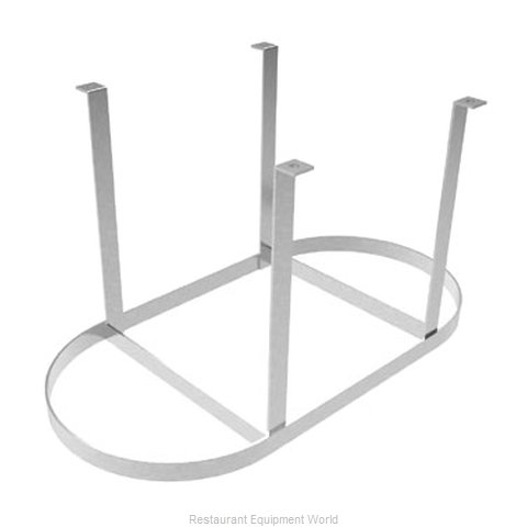 Elkay OCM-48 Pot Rack, Ceiling Hung