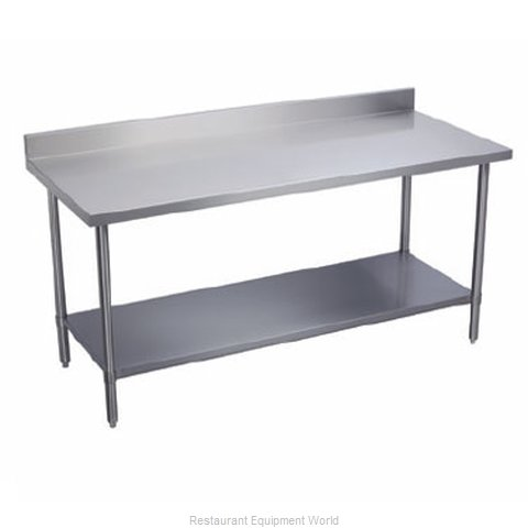 Elkay PSLWT24S120-BS Work Table 120 Long Stainless steel Top (Magnified)