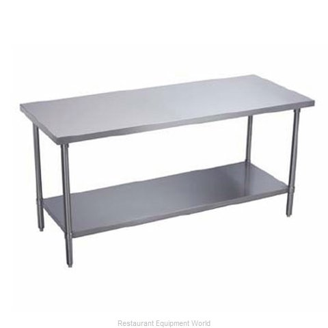 Elkay PSLWT24S120-STS Work Table 120 Long Stainless steel Top