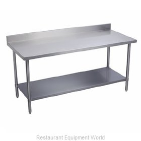 Elkay PSLWT24S132-BS Work Table 132 Long Stainless steel Top
