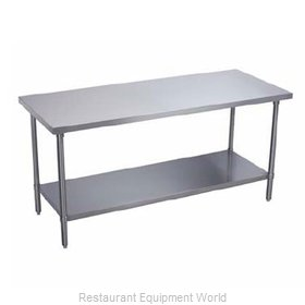 Elkay PSLWT24S132-STS Work Table 132 Long Stainless steel Top
