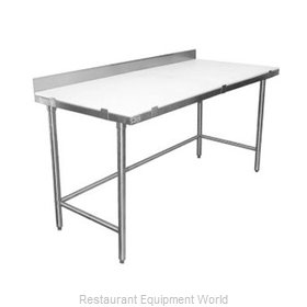 Elkay PT24X120-BS Work Table, Poly Top