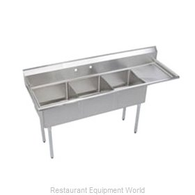 Elkay S3C18X18-R-18X Sink, (3) Three Compartment
