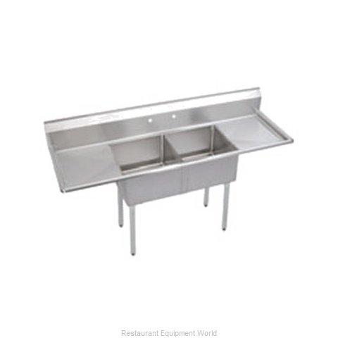 Elkay SE2C18X18-2-18X Sink 2 Two Compartment