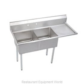 Elkay SE2C18X18-R-18X Sink 2 Two Compartment